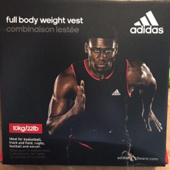 BNIB Brand New, Unused Adidas Bodyweight 10kg Vest (Currently on Amazon for £100)