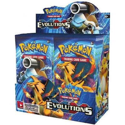 Pokemon XY Evolutions Booster New Sealed TCG Card Game - 1 BOOSTER PACK