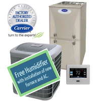 Furnace and A/C  installation $1599