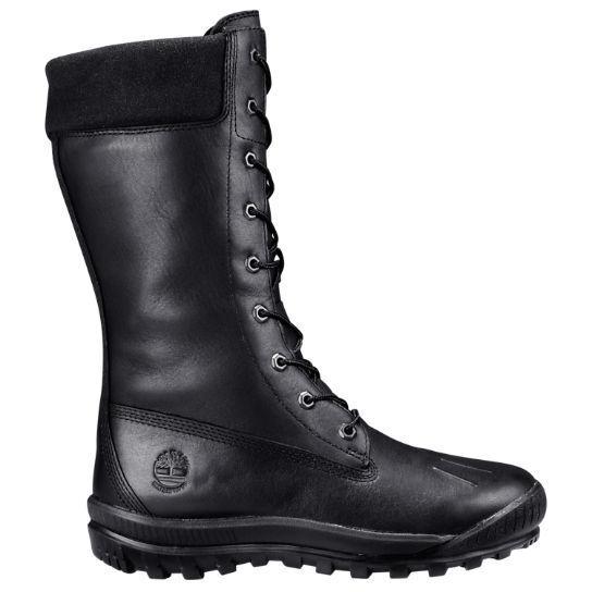 Timberland Woodhaven Tall Waterproof Boots Women's (SZ 6 & 7.5) Black A195N
