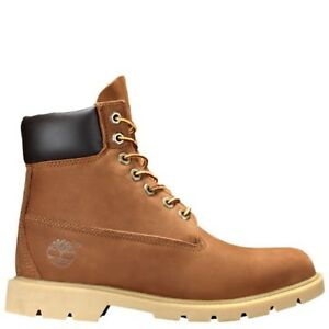 "Timberland Men 6"" Premium Waterproof basic Boots in Rust Nubuck"