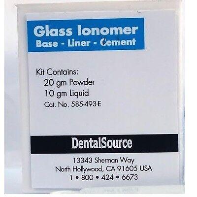 Permanent Cement Tooth Dental Teeth Material Kit Self Shade Caps Repair Luting