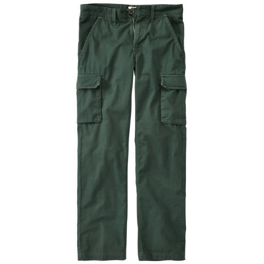 Timberland Men's Webster Lake Ripstop Forest Green Cargo Pants ...