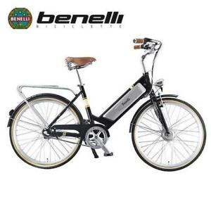 NEW BENELLI CLASSICA ELECTRIC BIKE CLASSICA RETRO 136933172 N8 LITHIUM 8-SPEED BICYCLE