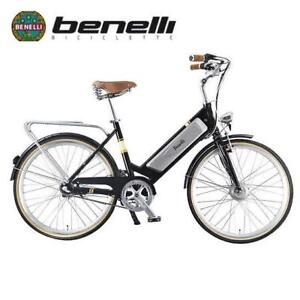 USED* BENELLI CLASSIC ELECTRIC BIKE CLASSICA RETRO 137915882 N8 LITHIUM 8-SPEED BICYCLE