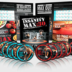 Insanity max 30 : 13DVDS SET:Sealed box