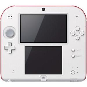 OB NINTENDO 2DS SYSTEM RED 187840872 SUPER MARIO BROS. 2 VIDEO GAMES SCARLET RED OPEN BOX