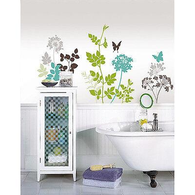 Limited Offer! WallPops WPK99060 Habitat Wall Art Kit - Butterfly Habitat Kit