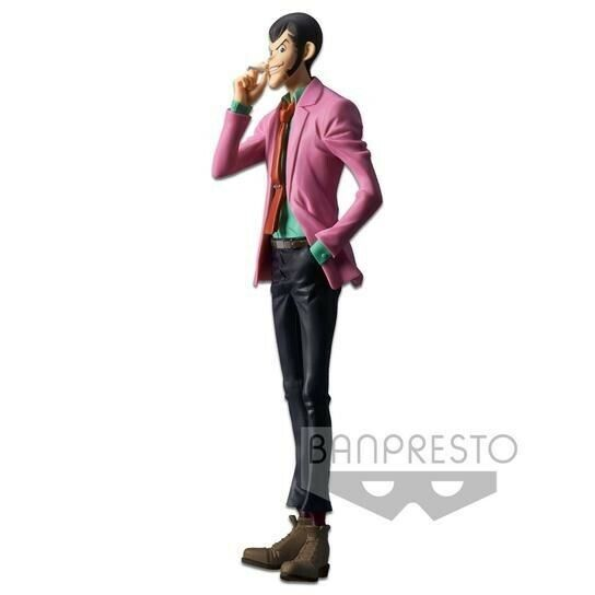 Lupin The Third Part 5 Master Stars Piece IV figure Banpresto pre-painted import