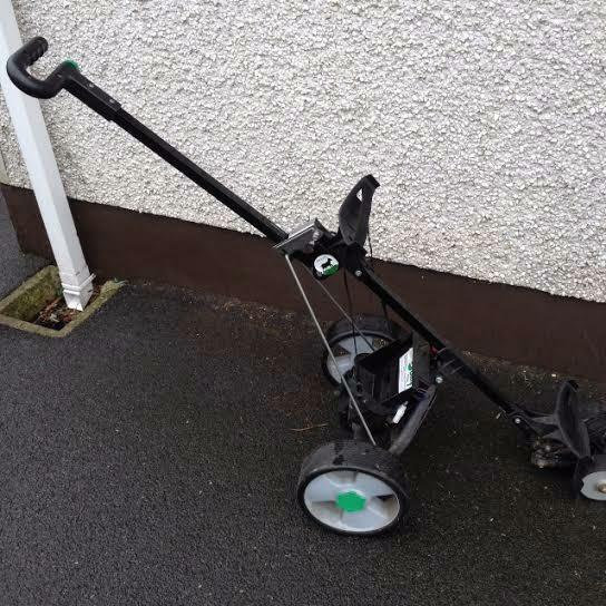 Hillbilly Electric Golf Trolley And Buy Sale And Trade Ads