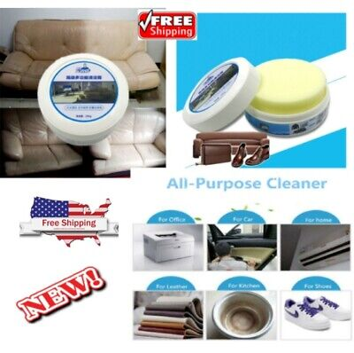 Multifunctional Leather Refurbishing Cleaner Sofa Car Seat Clothing Cleaning Cre
