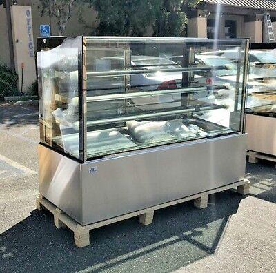 New 72 Bakery Deli Refrigerator Model Rc-6f Cooler Case Display Fridge Nsf