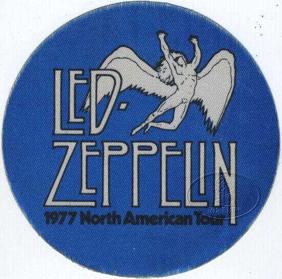 LED ZEPPELIN 1977 U.S. Tour Backstage Pass