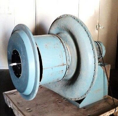 Kuhl Industrial Tba-12-20-tx-15 Exhaust Fan Blower 20 20hp 3ph 3500rpm Motor