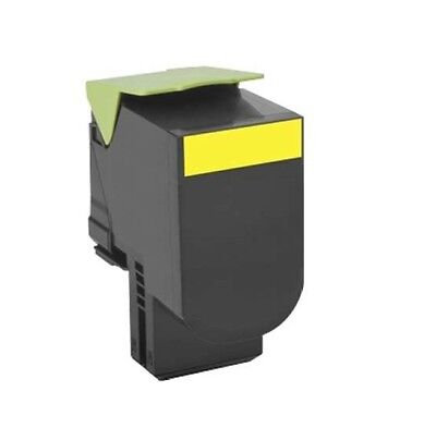 - Lexmark 80C0XYG Yellow Print Cartridge for CX 510 yield upto 4K pages