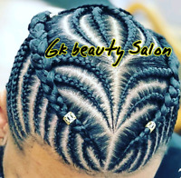Brampton Salon 905-230-6663 braids,weave,crochet,cornrows etc