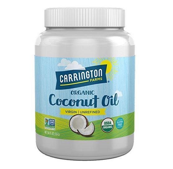 Carrington Farms Coconut Oil 100% Organic Extra Virgin 54 Ou