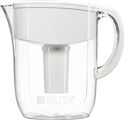Brita 10c Everyday (BPA At liberty) Water Pitcher Acrylic 1 Filter White Great Tasting