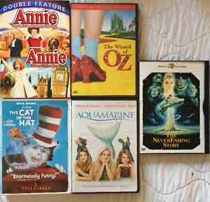 DVDs Annie,Wizard of OZ, Aquamarine West Island Greater Montréal image 1