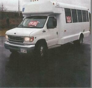 Ford E 450 Diesel 16 Passenger Bus With Wheelchair Lift