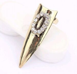 Wholesale Fashion Jewelry Party Punk Gothic Vampire Nails Goth Sharp Claws Rings