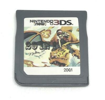 Pokemon 20 in 1 Games Cartridge Multicart For Nintendo DS NDS NDSL NDSi 2DS 3DS