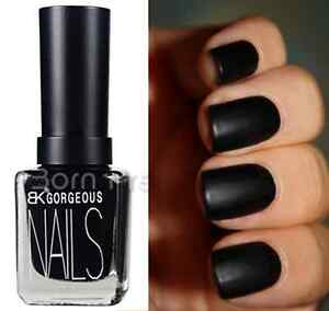 12ML-Black-Frosted-Matte-Dull-Nail-Art-Polish-Enamel-Varnish-Nail-Decoration