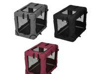 Foldable fabric dog cage (medium)