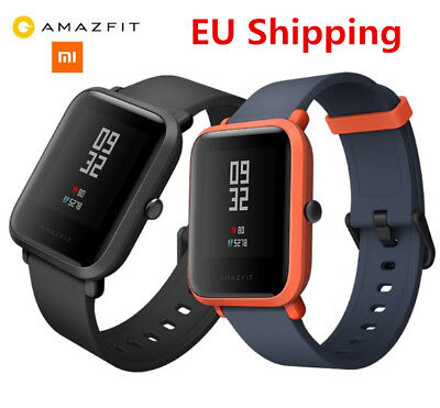 Xiaomi Huami Amazfit Bip BIT PACE Lite Youth Smart Watch In Black GLOBAL VERSION
