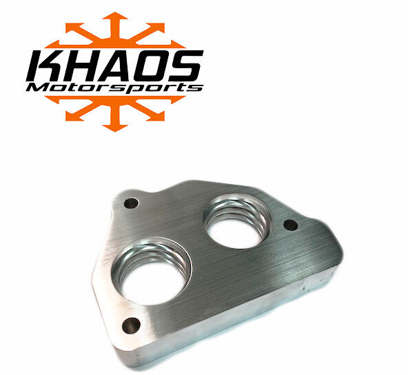 Khaos Motorsports Smooth Bore Throttle Body Spacer 87-95 Chevy GMC 4.3 5.0 5.7