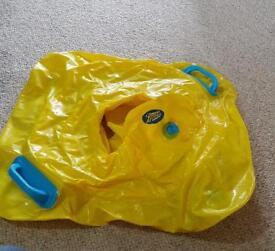 Baby bouancy swim seat