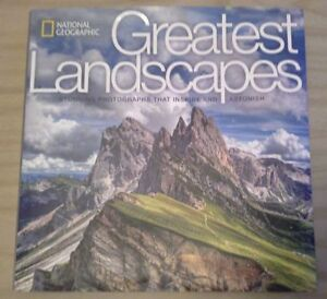 National Geographic Greatest Landscapes - Coffee table book