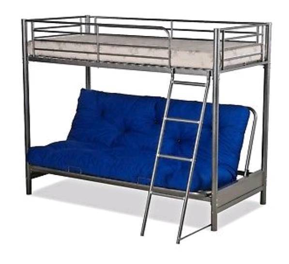 Surprising Metal Frame High Sleeper Bed Frame With Double Futon In Hartlepool County Durham Gumtree Bralicious Painted Fabric Chair Ideas Braliciousco
