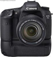 Canon Eos 7D / MultiPower Vertical BatteryGrip DSLR 7D1 100% New