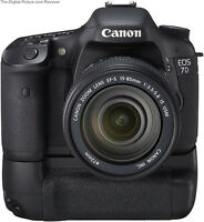 Canon Eos 7D / MultiPower Vertical BatteryGrip DSLR 7D1 100% New