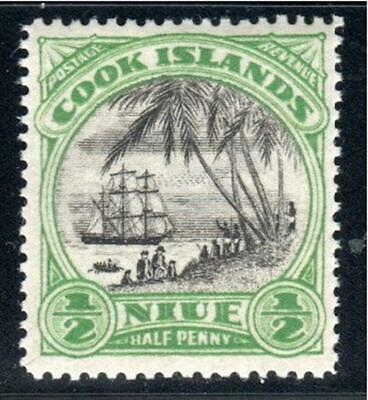 COOK ISLANDS NIUE STAMPS  MINT  HINGED   LOT 7284