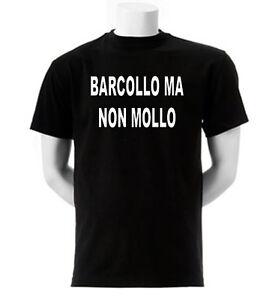 T-Shirt-Fun-S011-Barcollo-ma-non-Mollo-Drunk-Drinking-Ubriaco-Brillo-Instabile