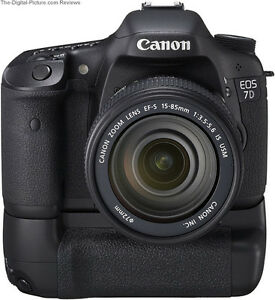 Canon 7D Batterie Grip DSLR MultiPower Vertical 7D1 100% NEUF