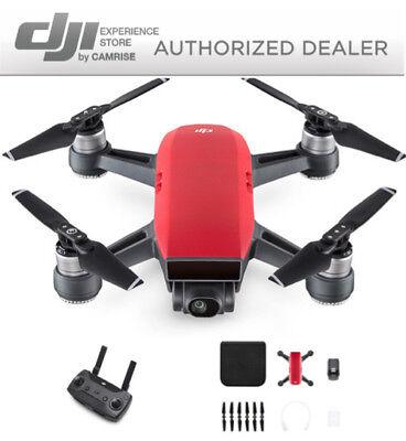 DJI Precipitate Drone Quadcopter Red and DJI Remote Controller