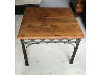 Dark Wood Chestnut Coffee Table