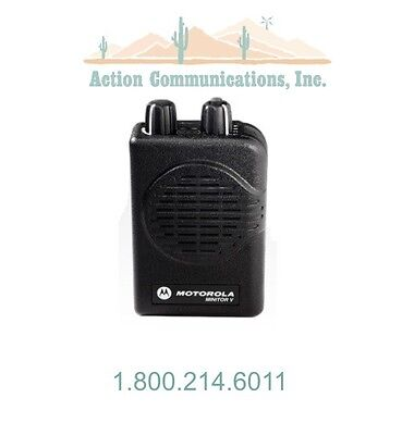 New Motorola Minitor V - Vhf 151-159 Mhz 2 Frequency Non-stored Voice Pager