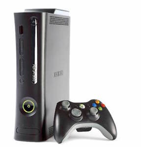 XBOX 360 Modded (reads backup/copied disks) + extras