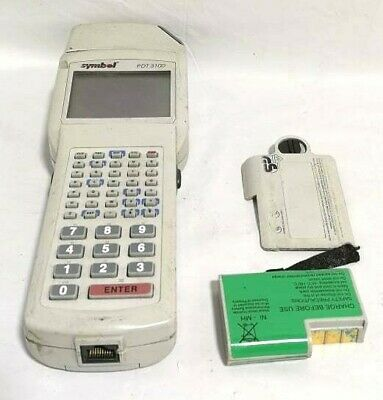 Symbol Pdt3100-s0844011 Portable Data Terminal Scanner
