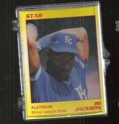 Bo Jackson 1990 Star Company Platinum Baseball Set Kansas City Royals #/1000 - Party City Stars