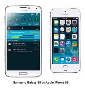 Samsung galaxy s5 to iPhone.