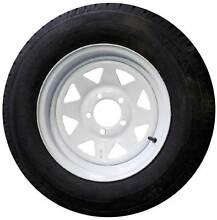 "White Sunraysia Rim & Tyre 14"" Ford Wheel Trailer Caravan Boat 18 Brendale Pine Rivers Area Preview"