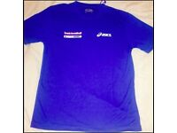 Netball Asics tshirts- Just cool by AWD (30 pieces size Medium)