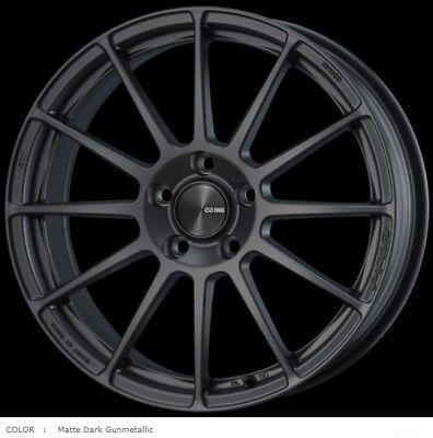 ENKEI Wheels PF03 7.0J-17 +48 5x114.3 Matte Dark Gunmetal set of 4 from JAPAN