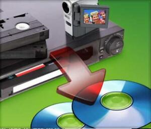 Video Tape to DVD Service
