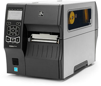 New Zebra Zt410 Thermal Transfer Usb Lan Serial Label Printer Zt41042-t010000z